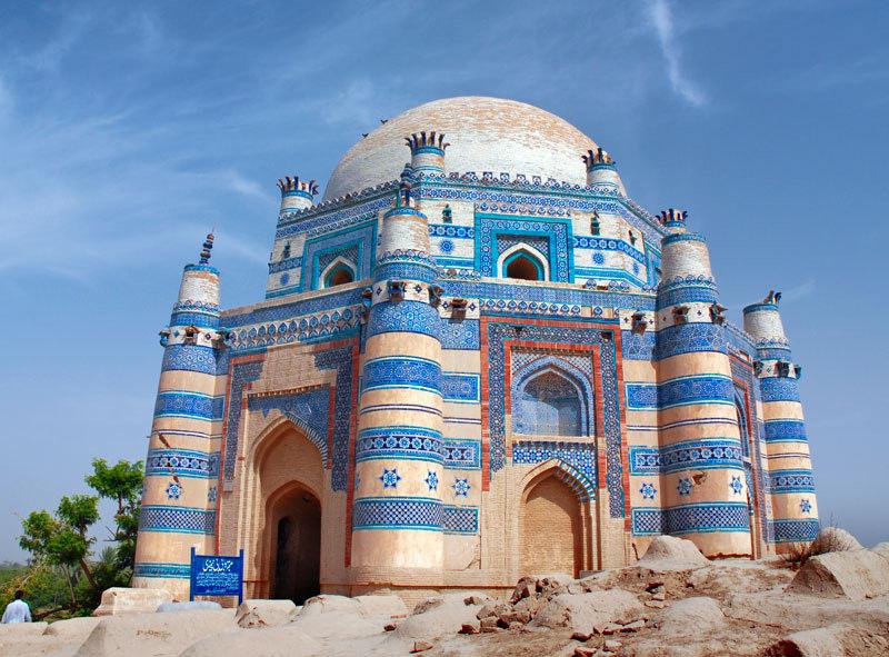 The Tomb of Bibi Jawindi in Uch Sharif