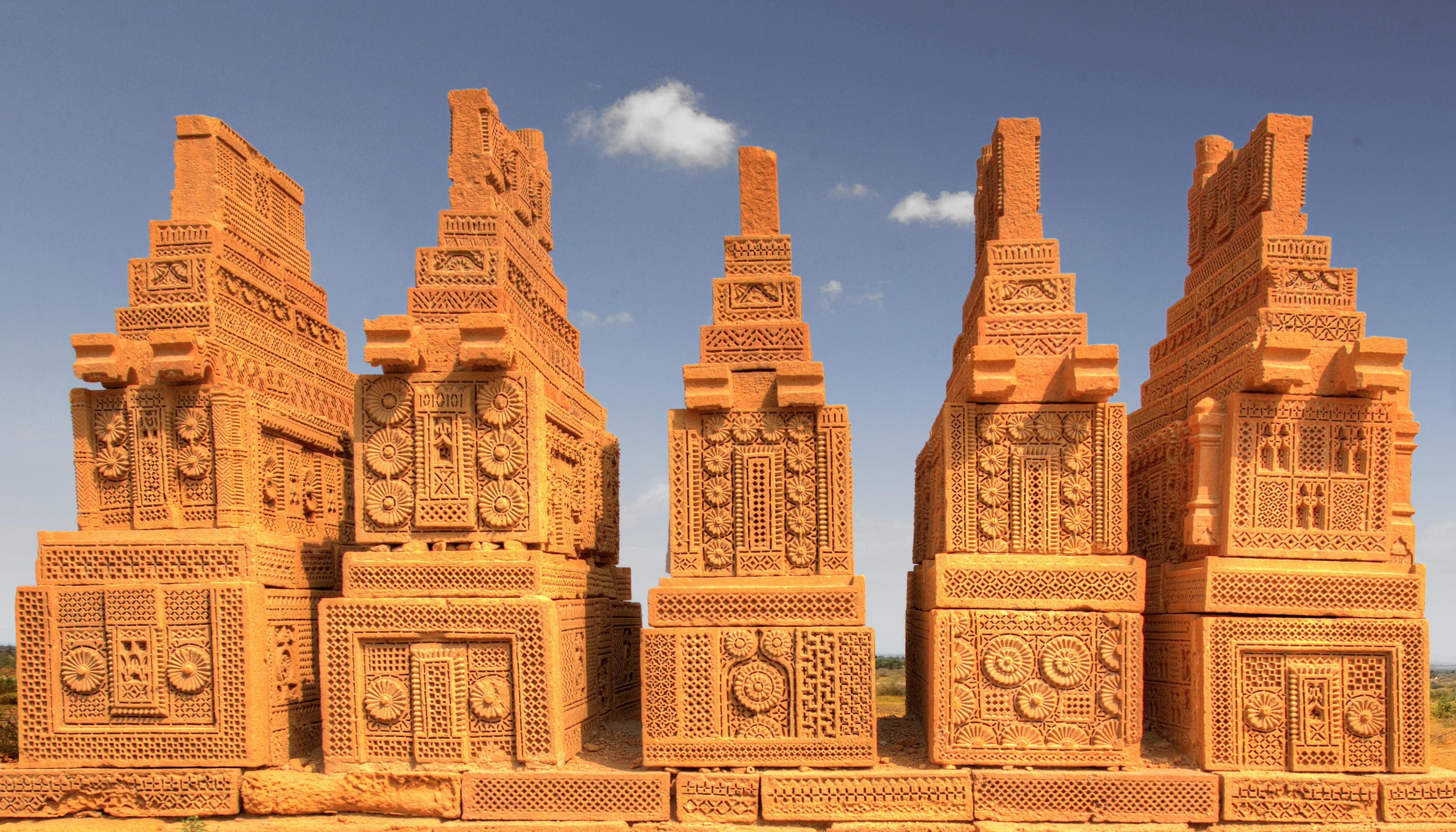 The Chaukhandi Tombs