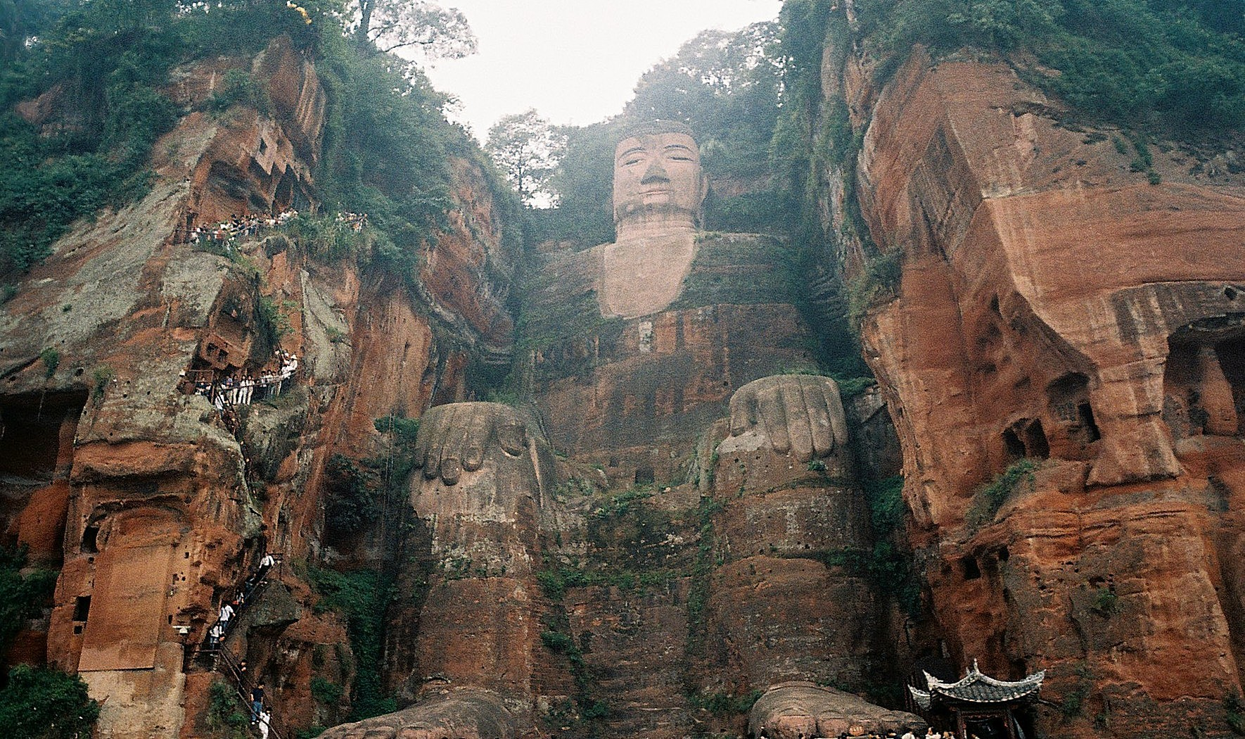 Buddha Rock Carvings