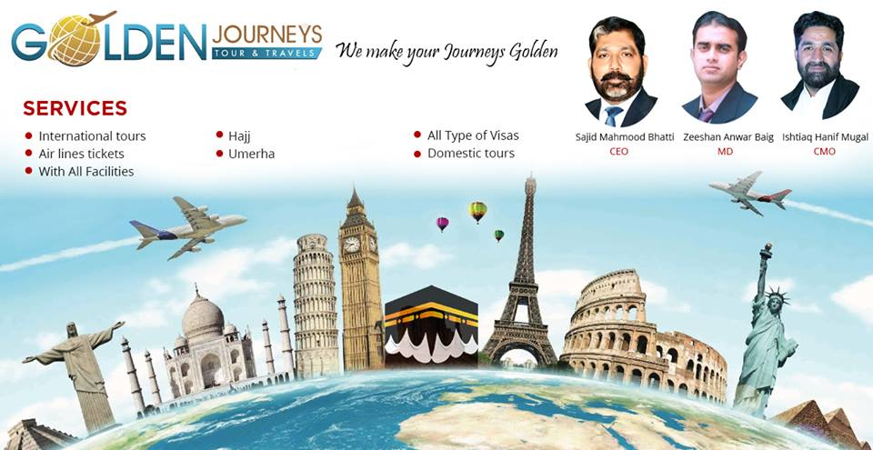 Golden Journeys Tours &Travels