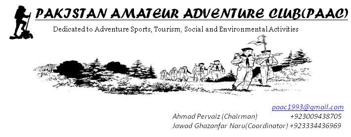Pakistan Amateur Adventure CLUB - PAAC